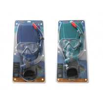 Mirage Mission Adult Mask Snorkel and Fins Set