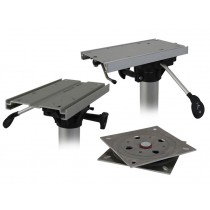 Mounting Brackets for Boat Seats on Fixed Pedestal