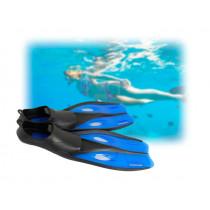 Mirage Quest Fins Blue Large US Size 8-10