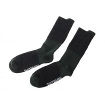 Ridgeline Gumboot Merino Socks Black/Olive