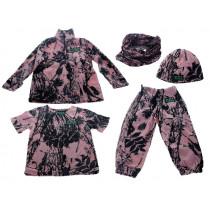 Ridgeline Kids Little Critters 5 Piece Fleece Clothing Pack Pink Camo 8