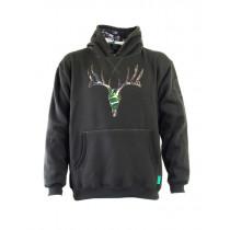 Ridgeline Mens Deer Hoodie Olive
