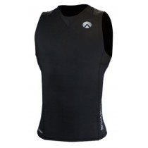 Sharkskin Compression R-Series Mens Sleeveless Top Black