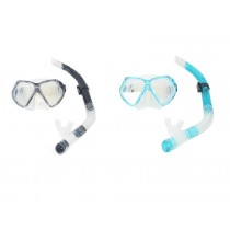 Aropec Adult Silicone Mask and Semi-Dry Snorkel Set