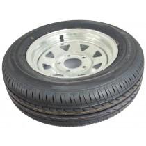 AL-KO Galvanised Trailer Wheels and Tyres