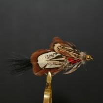 Fishfighter Mrs Simpson Red Beadhead Lure Fly