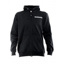 Shimano Zip Front Black Fleece Hoodie