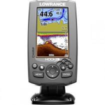 Lowrance HOOK-4 CHIRP GPS/Fishfinder DownScan Package