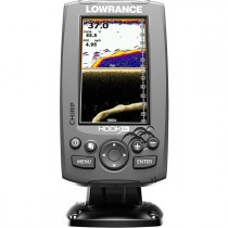 Lowrance HOOK-4x CHIRP Fishfinder with Mid/High/DownScan Transducer