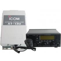 Icom IC-M710 HF SSB Radio With AT-130 Automatic Tuner Unit