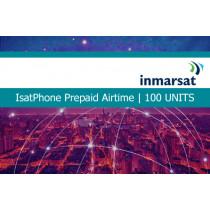 Inmarsat IsatPhone Prepaid Airtime 100 Units