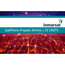 Inmarsat IsatPhone Prepaid Airtime 25 Units