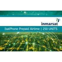 Inmarsat IsatPhone Prepaid Airtime 250 Units