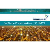 Inmarsat IsatPhone Prepaid Airtime 50 Units