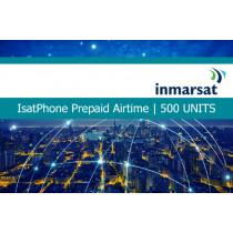 Inmarsat IsatPhone Prepaid Airtime 500 Units