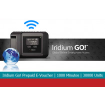 Iridium Go! Prepaid E-voucher with 1000 Minutes or 30000 Units of Direct Internet Go! Data 1 Year Validity