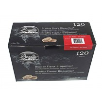 Bradley Smoker Flavoured Bisquettes 120 Pack - Jim Beam
