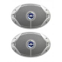 JBL MS 9520 Coaxial Waterproof Marine Speakers 6x9'' 300W