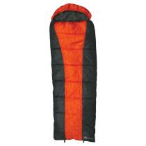 Kiwi Camping Glacier Sleeping Bag Grey/Orange Left-Hand Zip