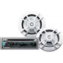 Kenwood PKG-MR362BT Marine Audio Package
