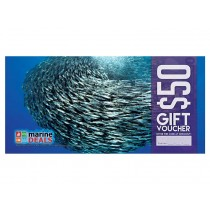 Marine Deals $50 Gift Voucher with Sleeve - Baitball