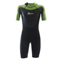 Maddog WS3 Mens Superstretch 2mm Springsuit Black Lime