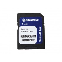 Navionics Gold SD/MSD Chart Card 1XG US and 2XG Canada for Raymarine