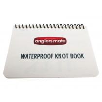 Anglers Mate Waterproof Fishing Knot Book