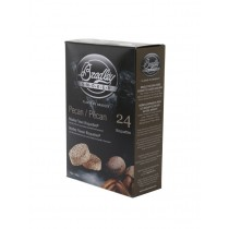 Bradley Smoker Flavoured Bisquettes 24 Pack - Pecan