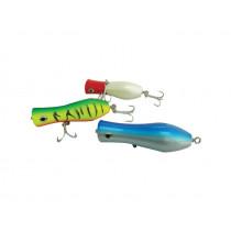 CDX Popper 135g Tiger Fish Green/Yellow