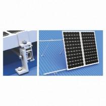 Solar Panel Adjacent Front Leg Tilt