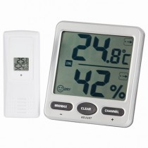 Digitech Wireless 8 ChannelThermometer/Hygrometer with Jumbo LCD