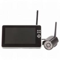 Digital Wireless Receiver 2.4GHz DVR with 7'' LCD & Camera Kit