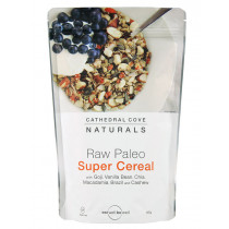 Raw Paleo Super Cereal with Goji and Vanilla Bean 350g