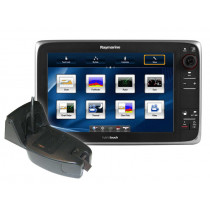 "Raymarine e127 12.1"" GPS/Fishfinder Startup Package"