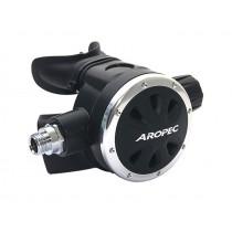 Aropec Apollo-A Adjustable Second Stage Regulator Silver/Black