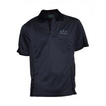 Ridgeline Mens Breeze Short Sleeve Polo Shirt Olive/Black XL