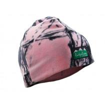 Ridgeline Micro Fleece Beanie Pink Camo