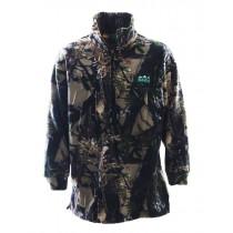 Ridgeline Mens Classic Fleece Bushshirt Buffalo Camo