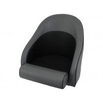 Hi Tech Bolster Seat NZ Made Grey Black Weave