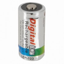 3v Rechargeable CR123A Lithium Battery 560mAh