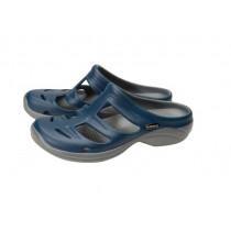 Shimano Evair Boat Sandals Blue/Grey US10