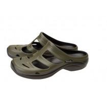 Shimano Evair Boat Sandals Green/Black US10