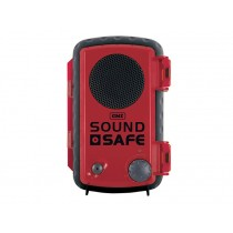 GME SoundSafe Waterproof Smartphone Case with Player Red