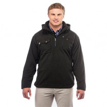 Swanndri Mens High Rock Fleece Pullover with Waterproof Backing