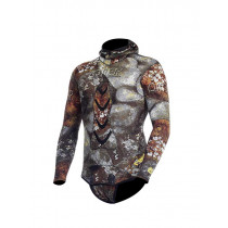 OMER Camu 3D Compressed Mens Spearfishing Wetsuit Jacket 3mm