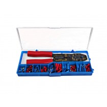 Crimping Tool with an 80-piece Connector Kit
