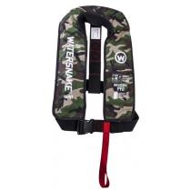 Watersnake Camouflage Inflatable Life Jacket 150N